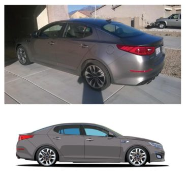 Dan's Kia Optima Turbo