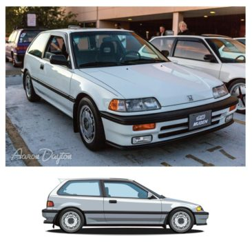 1989 Honda Civic Si