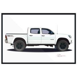 2012 Toyota Tacoma White