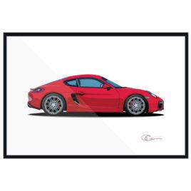 15 Porsche Caman GTS red