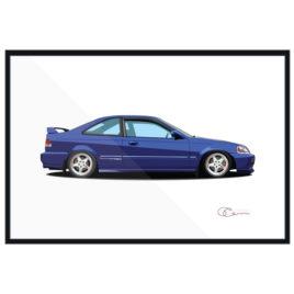 1999 Honda Civic Si Print