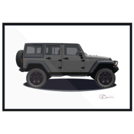 Jeep JK 4 door Gray