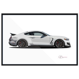 2015 Ford Mustang GT350 R Print