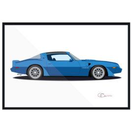 79 Pontiac Firebird Trans Am blue Longmire Ferguson