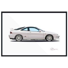 1999 Acura Integra Type R Print