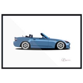 Honda S2000 Print