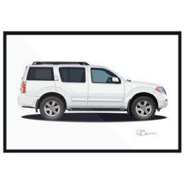 2012 Nissan Pathfinder White