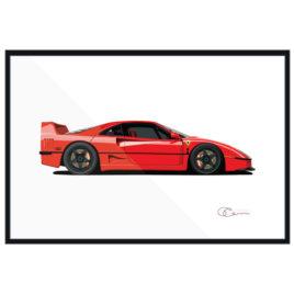 Ferrari F Fourty