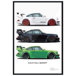 Porsche 911 964 RWB Friends