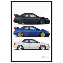 Subaru WRX 'Blob Eyed Invasion'