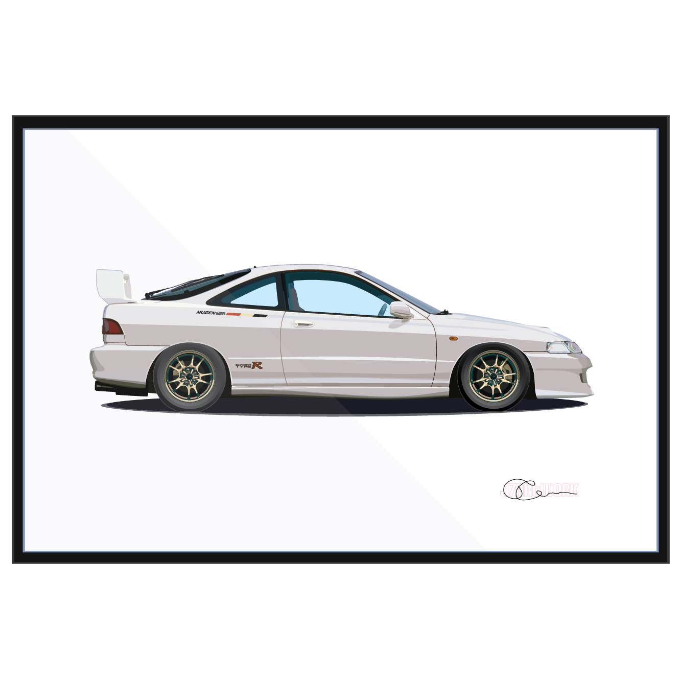 Acura Integra Type R Mugen White