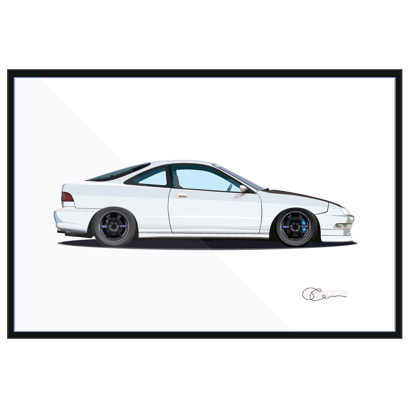 Acura Integra Type R Silver
